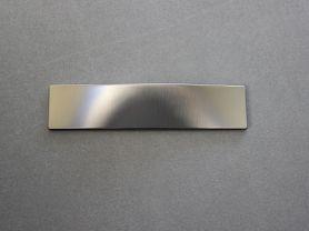 Poignée PLATE DESIGN Nickel mat 64