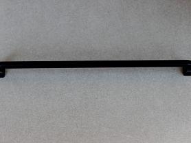 POIGNEE ART DECO PIED CARRE Noir Mat 320