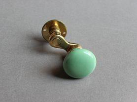 MANIVELLE BORDELAISE Bouton rond Vert Pomme sur ROS LP